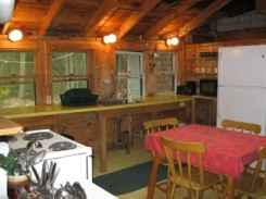 Cabin, kitchen