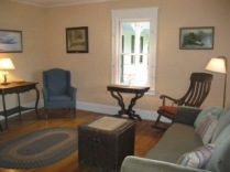 Anchorage, main sitting room looking east (fireplace is west)