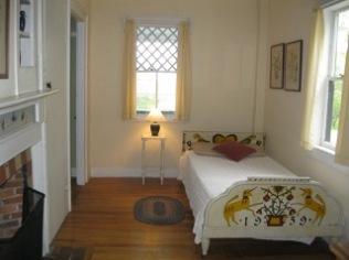 """""""Little Otie's"""" bedroom on ground floor of the Anchorage"""