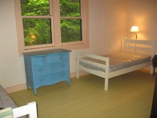 Cabin, finished child's bedroom